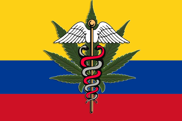 colombia flag cannabis medical
