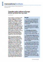 Cannabis policy reform in Europe